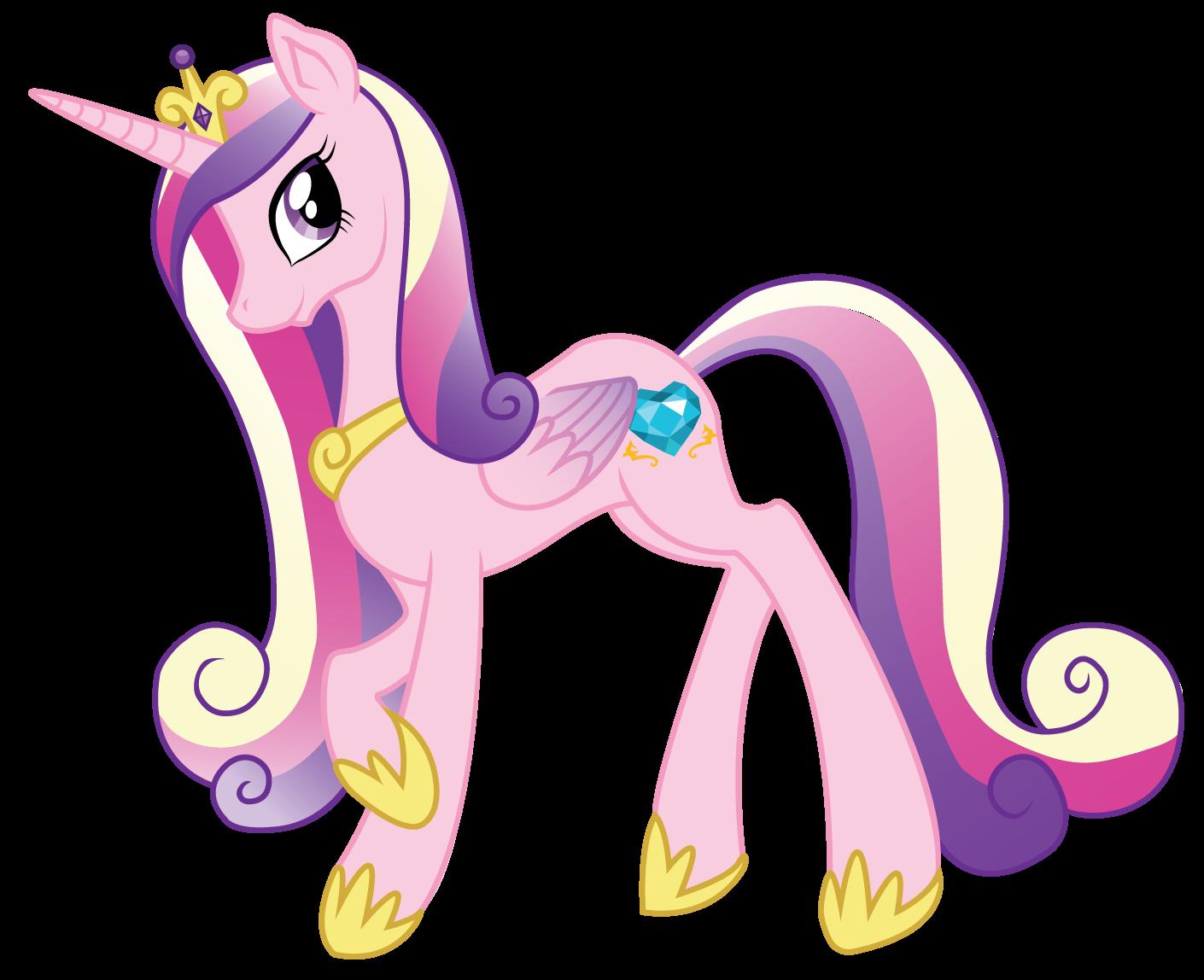 Пони принцесса каденс в платье