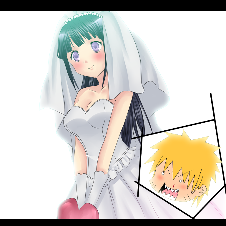 Свадьба наруто и хинаты.