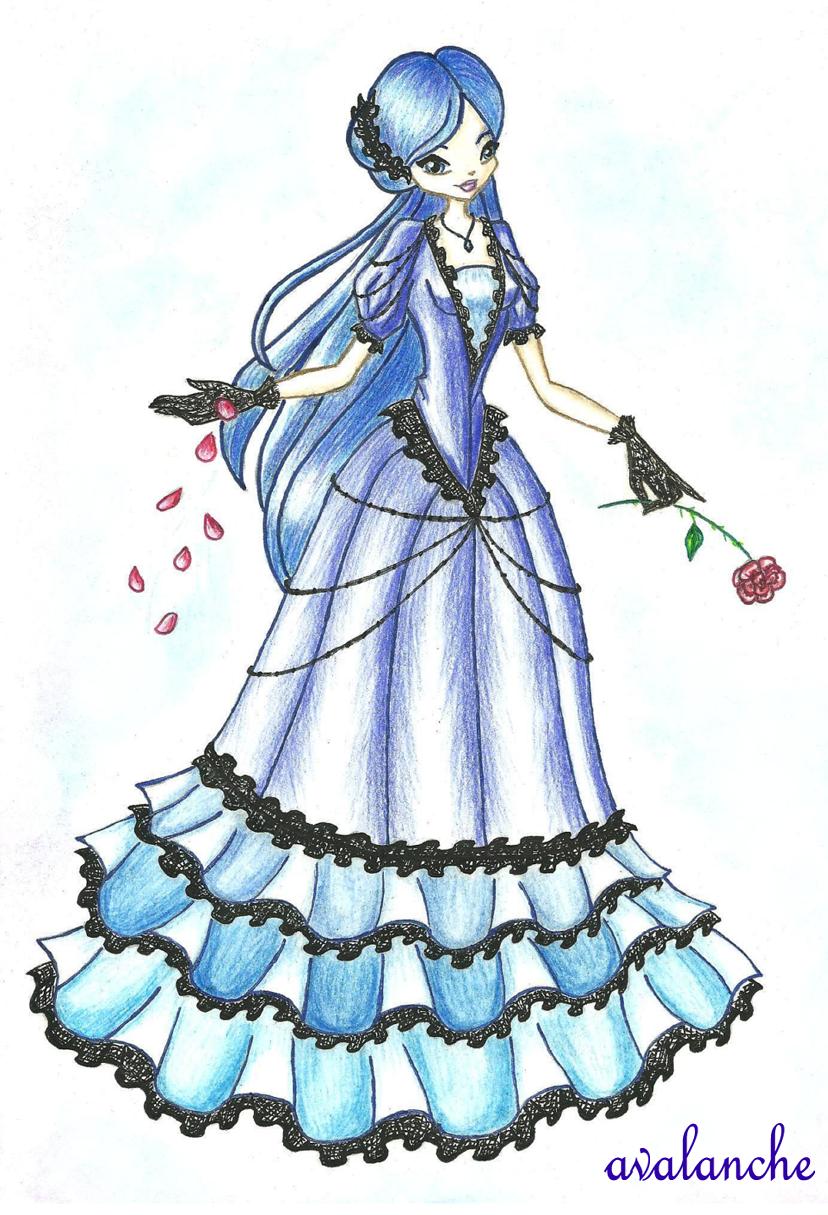 Принцесса Луна - Конкурс Пони в стиле ...: www.youloveit.ru/gallery/pony_winx/64538-konkursy-288.html