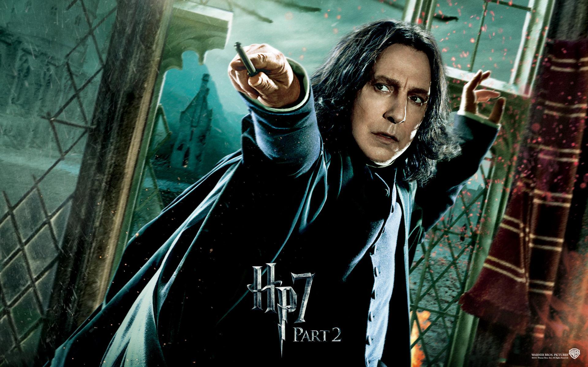 """Сьогодні помер Алан Рікман, який зіграв у """"Гаррі Поттері"""" роль професора Снейпа"""