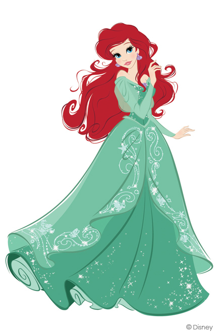Платье ариэль дисней