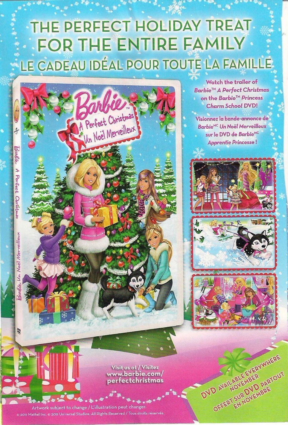 Barbie a perfect christmas barbie