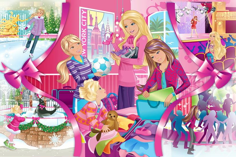 Игры для девочек барби и ее сестры