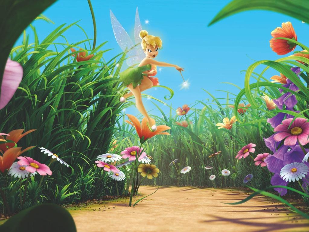 Цветы из мультиков картинки 1