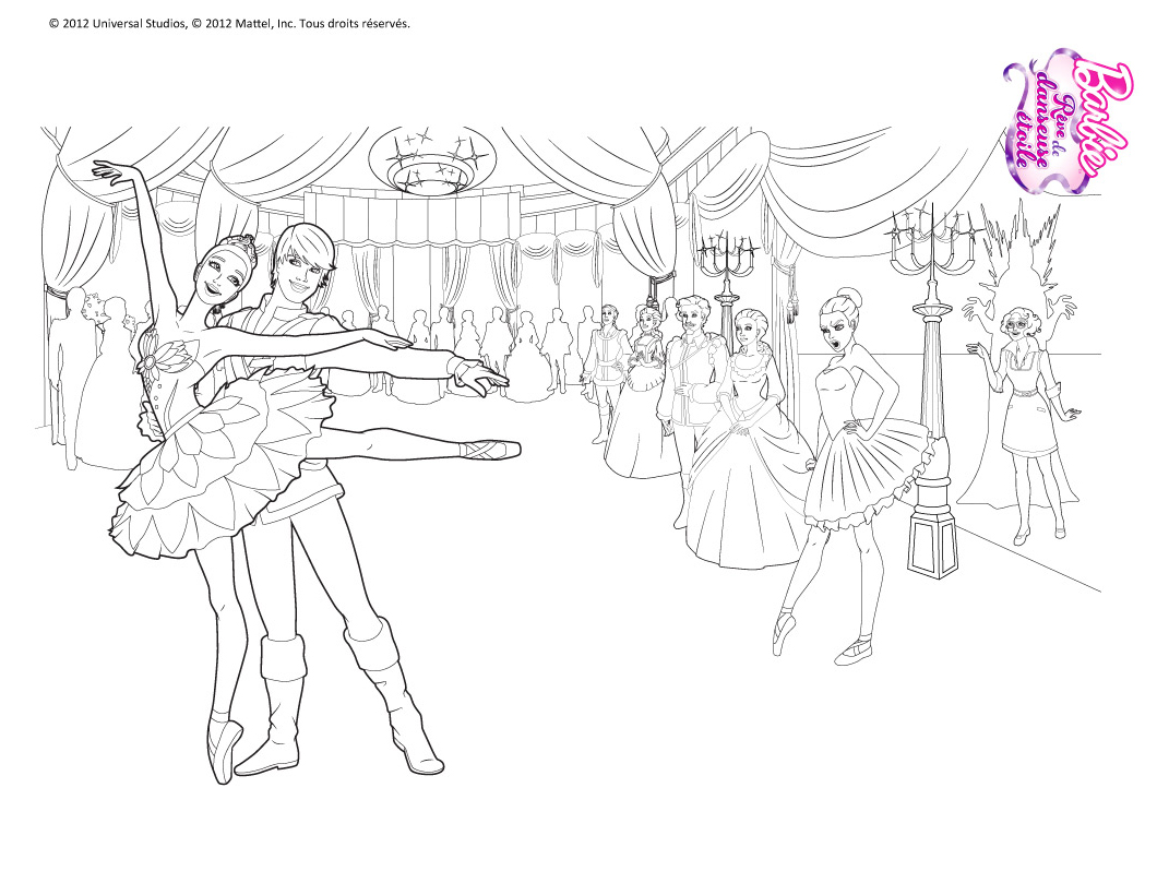 Барби рисовать самому