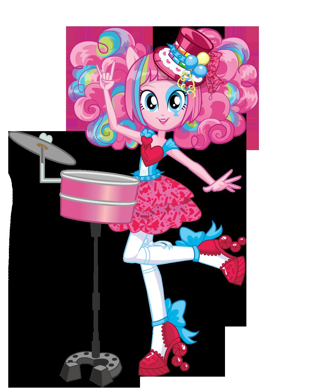 Радужный рок девушки эквестрии