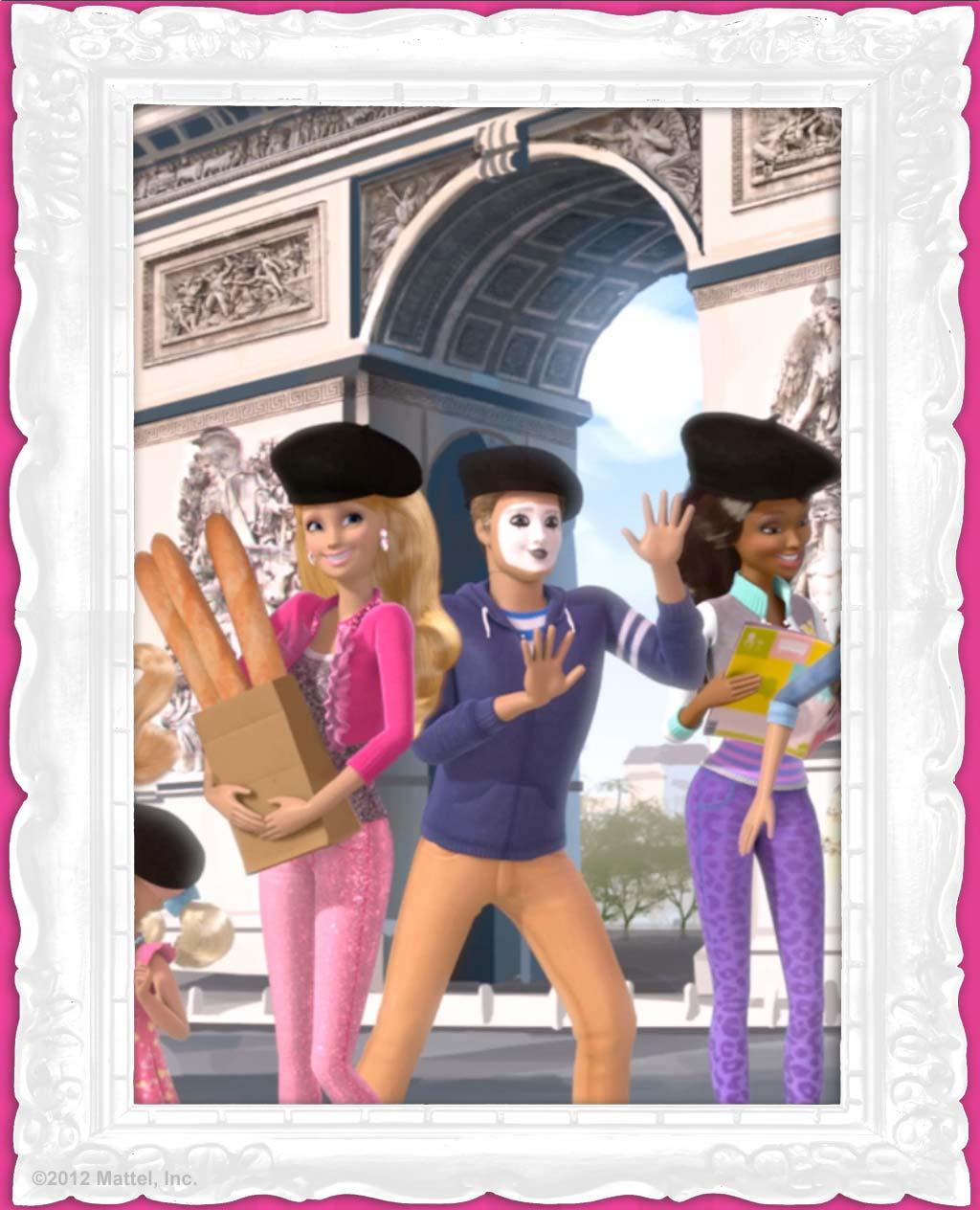 Барби барби жизнь в доме мечты париж