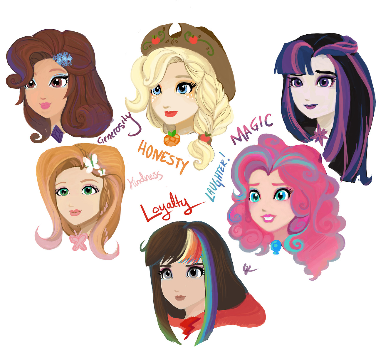 HAIR SISTERS Ever After High By KagomesArrow77 On DeviantArt