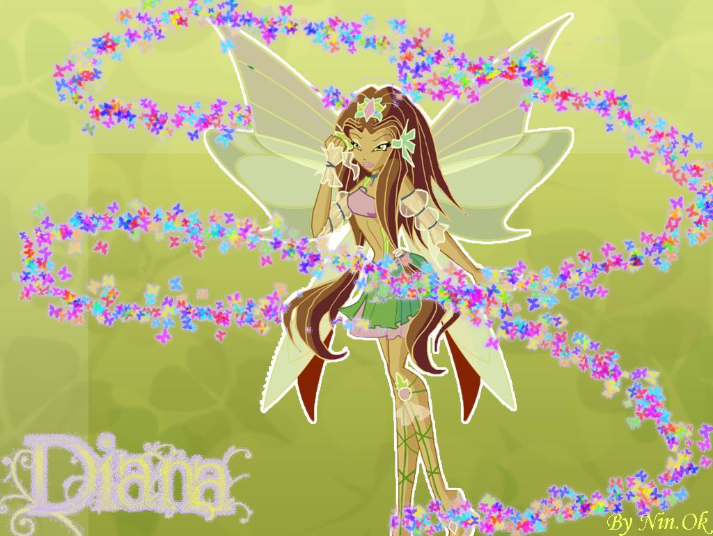 Диана фея природы картинки