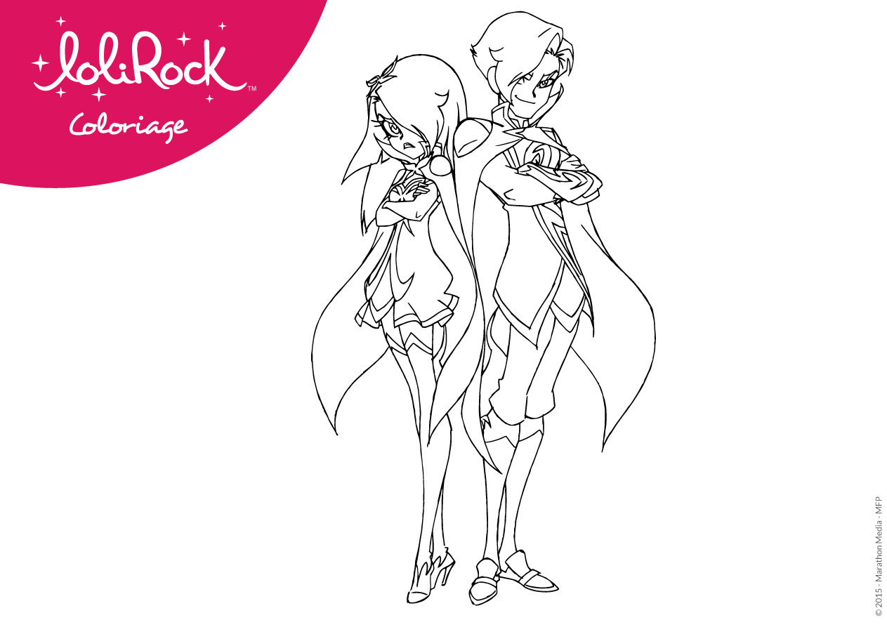 Free Coloring Pages Of Lolirock