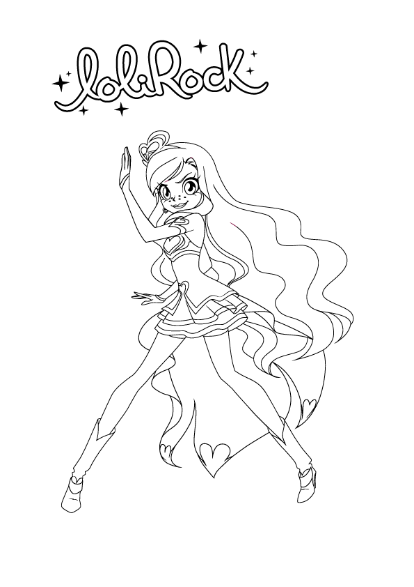 Lolirock Coloring Pages Coloring