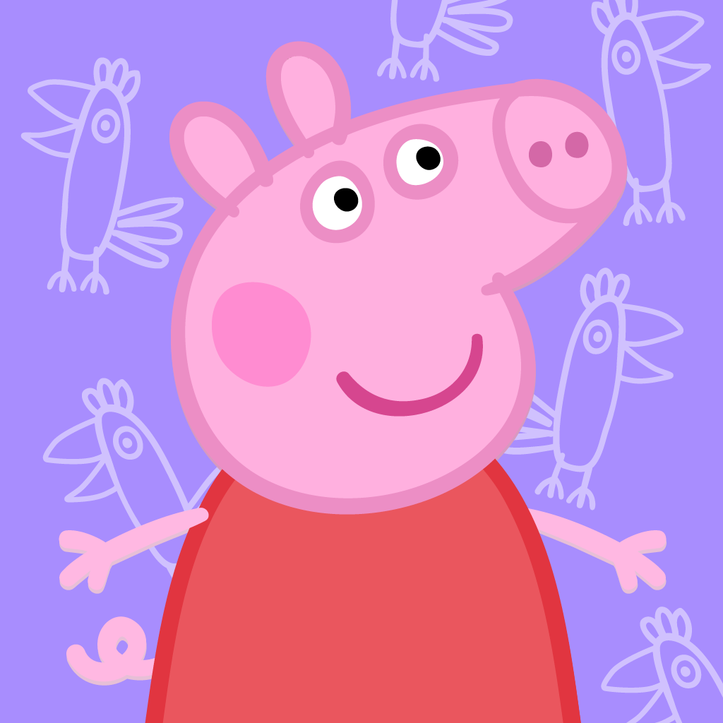 Свинка Пеппа картинка с фоном - Свинка Пеппа - YouLoveIt.ru