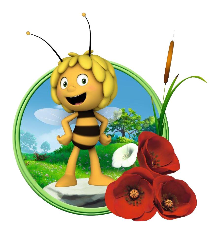 картинки пчелка майя