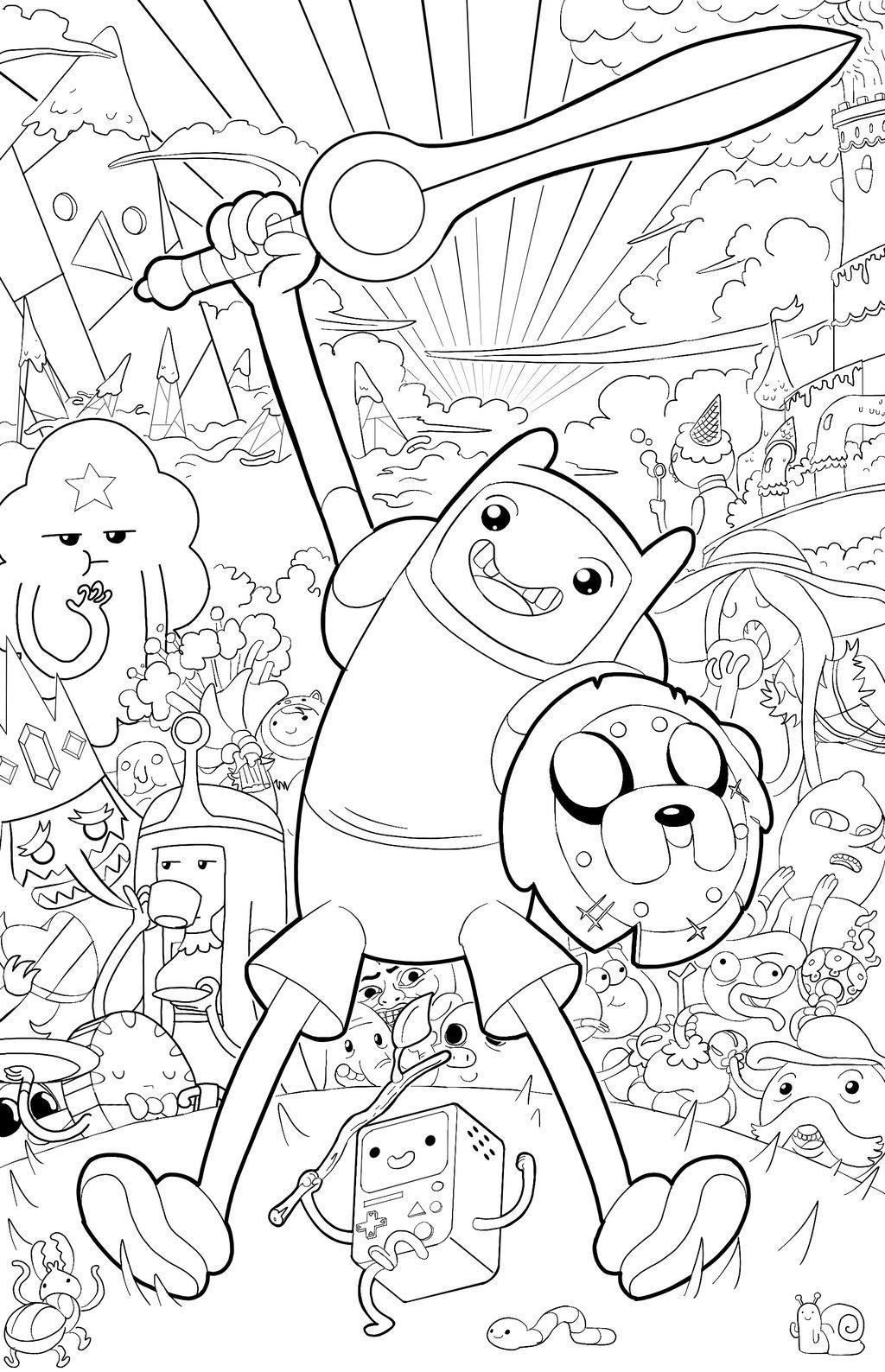Adventure Time Funko Pop Kleurplaat Раскраска Время Приключений Раскраски Время Приключений