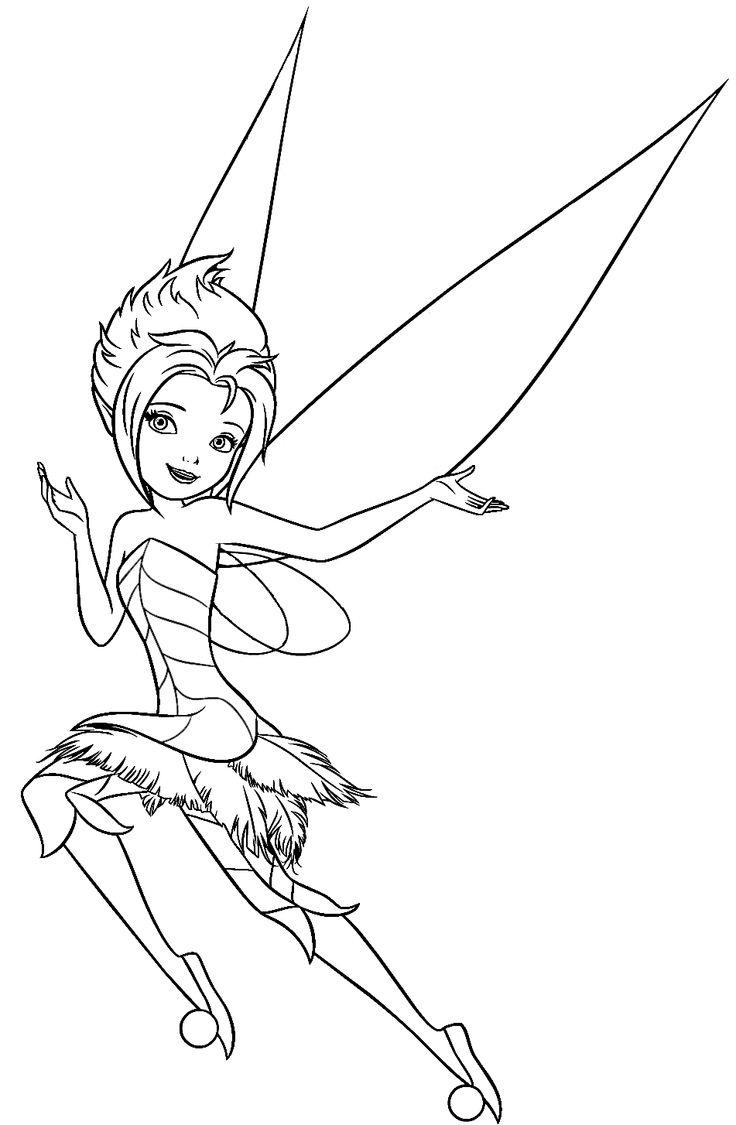 disney fairies coloring pages fawn doberman | Фея Незабудка - Раскраски Феи Дисней - YouLoveIt.ru