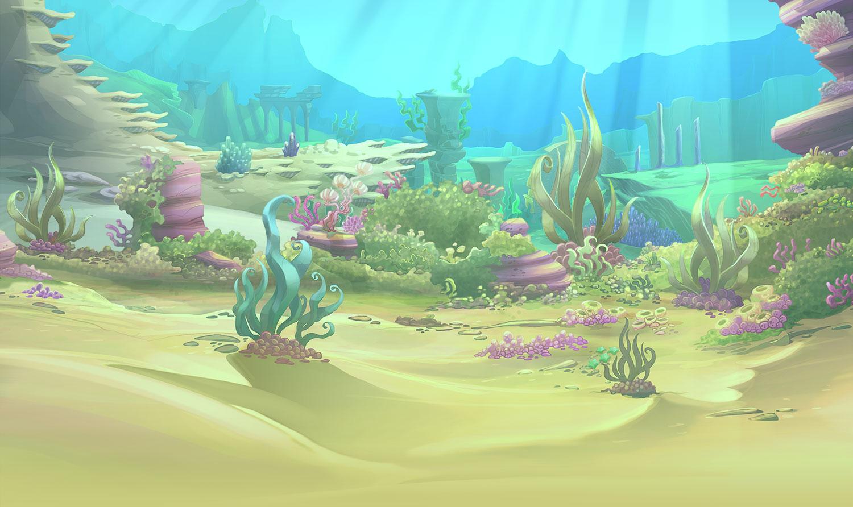 Подводный мир 5го сезона винкс