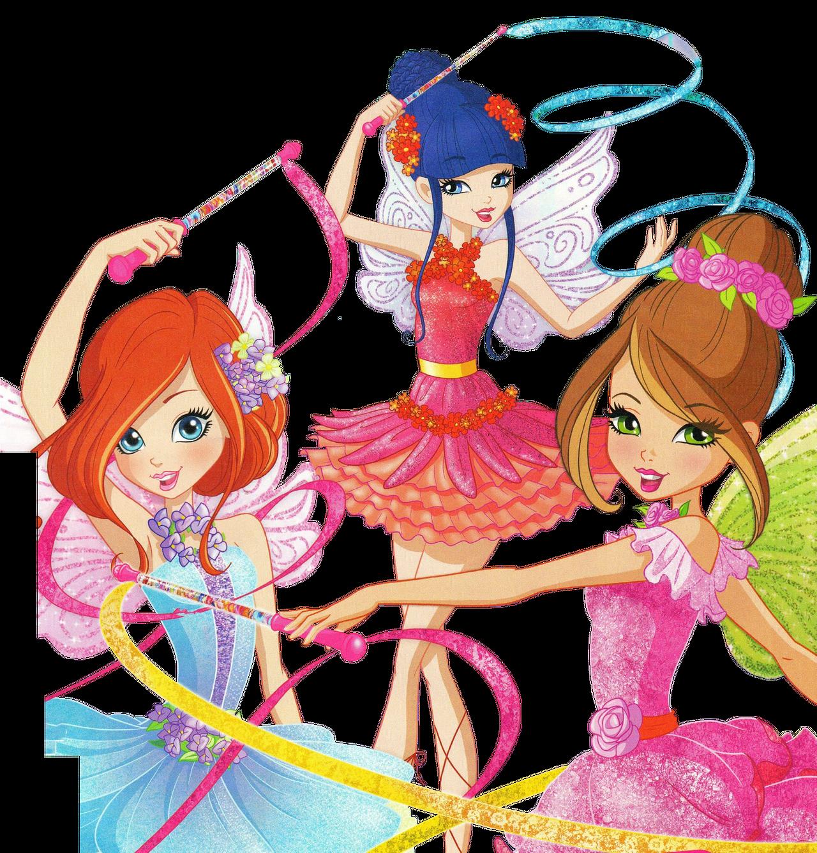 Винкс 8 сезон балерины - Персонажи - YouLoveIt.ru