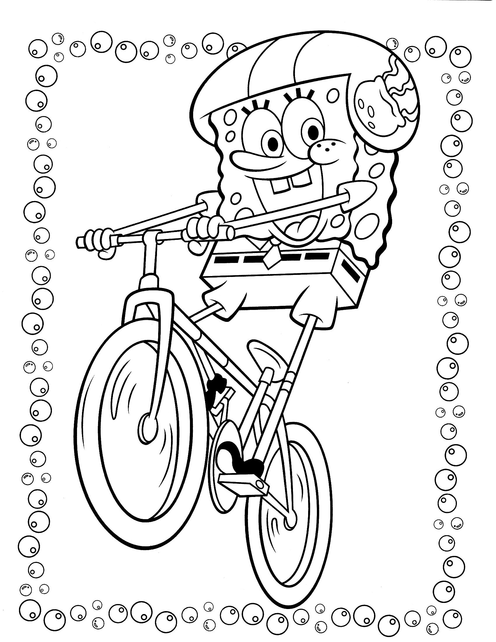 Игры губка боб на велосипеде фильмы сталлоне от любви