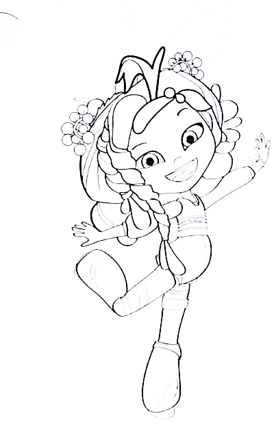 Сказочный Патруль новая раскраска, Аленка - волшебница ...