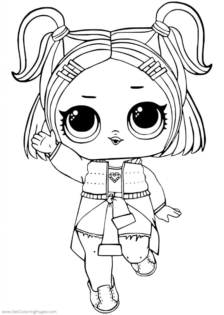 Раскраска для девочек ЛОЛ - Раскраски Лол LOL Surprise ...