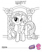 Раскраски Мои маленькие пони: Дружба ...: www.youloveit.ru/gallery/mlp_coloring