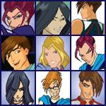 Иконки со Специалистами из сериала Клуб Винкс
