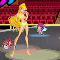 Игра для девочек Одень Блум и Стеллу из Клуба Винкс