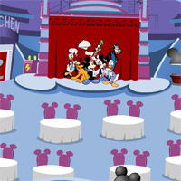 Игра дисней ресторан с Микки Маусом и другими