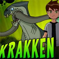 Игра Бен 10 и атака Кракена