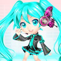 Игра одевалка вокалоид: Хатсуне Мику