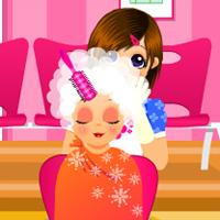 Игры для девочек салоны красоты обслуживание
