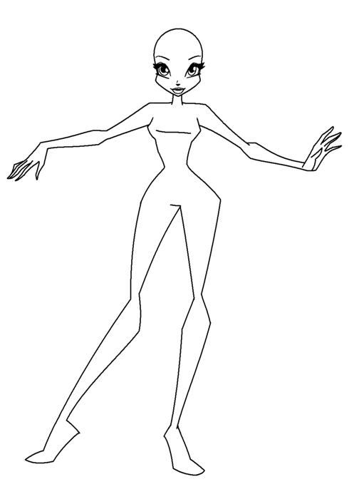 Нарисовать танцующего человека поэтапно