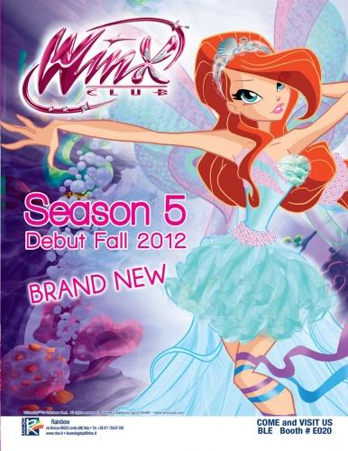 ... в 5 сезоне Винкс, новые новости и новое.