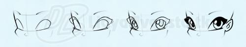 Урок рисуем лицо феи винкс в картинках и игра раскраска
