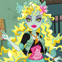 Игра Monster High и Лагуна Блю