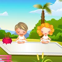 Игра для девочек Экзотический спа салон