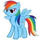 Радуга Дэш / Рейнбоу Дэш (Rainbow Dash)