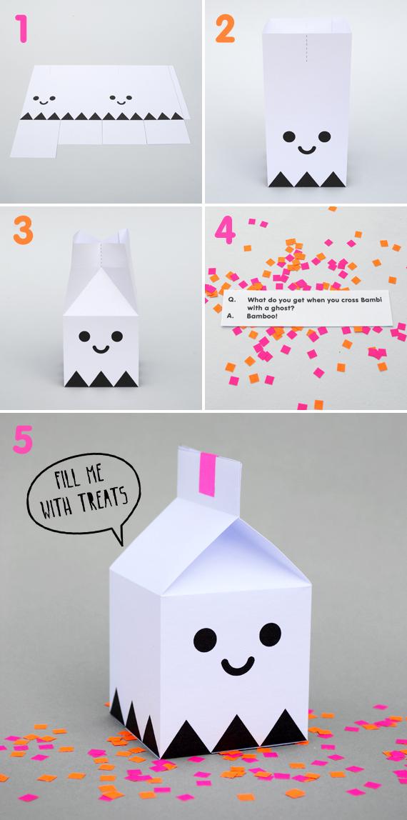 Коробочка для подарков на Хэллоуин - YouLoveIt.ru