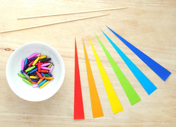Бусы украшение для дома из цветной