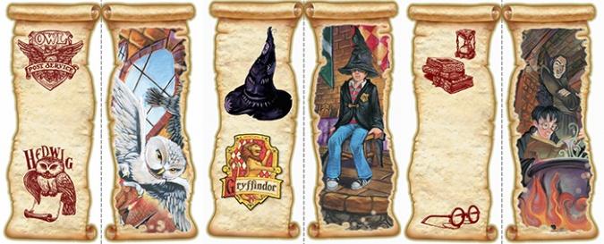 Закладки для книг по Гарри Поттеру