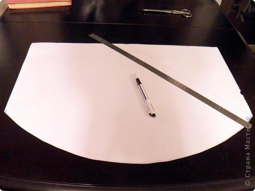Как сделать елочку из бумаги и мишуры