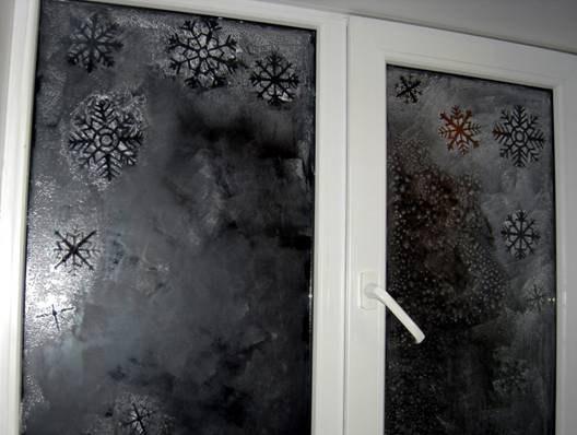 Большая снежинка своими руками на новый год