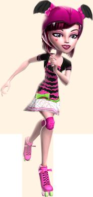Картинки персонажей Монстр Хай из серии Skultimate Roller Maze