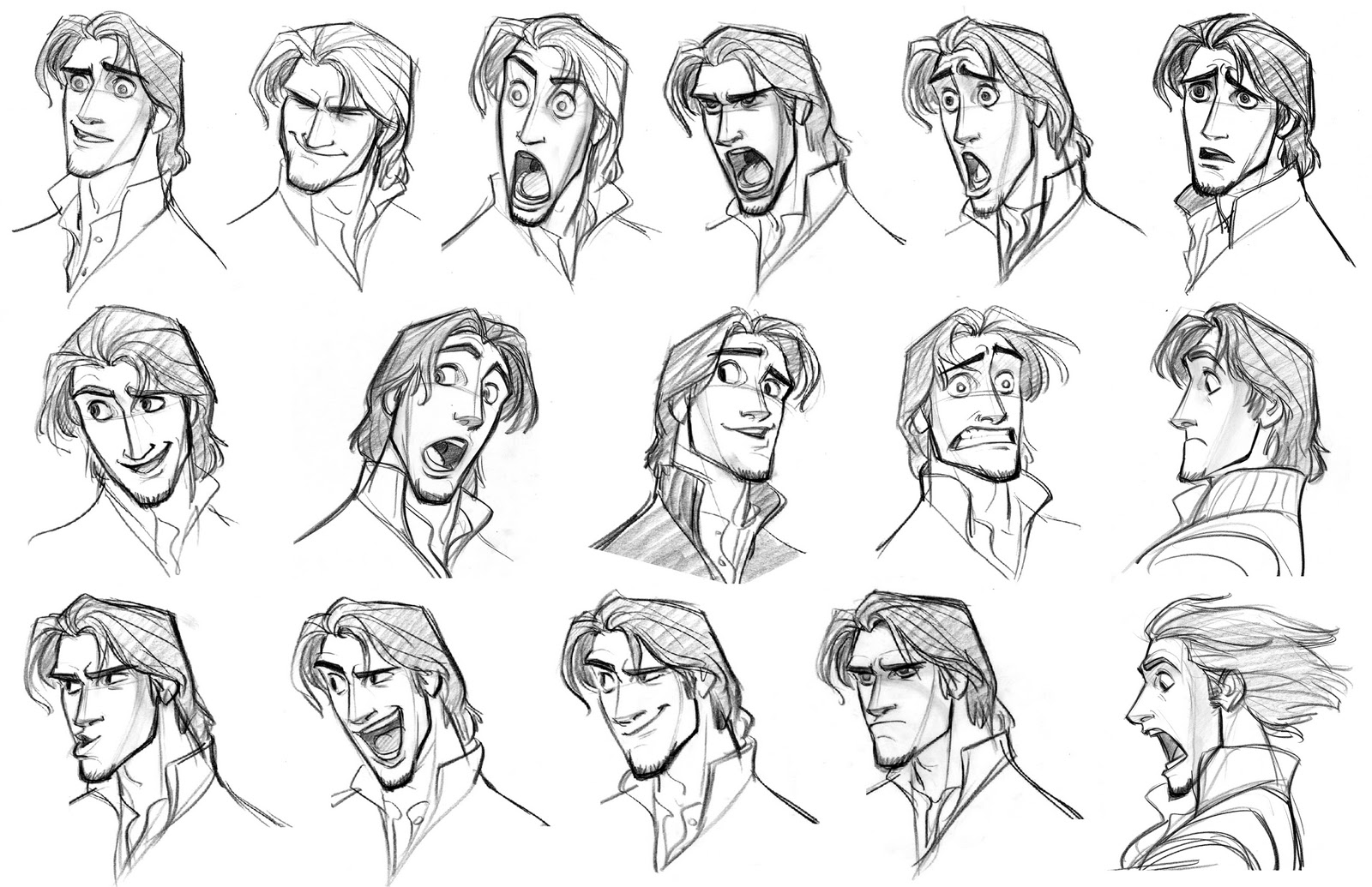 Academy Of Character Design : Character design expressions on pinterest facial