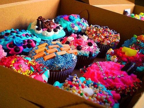 Красивые сладости и конфеты