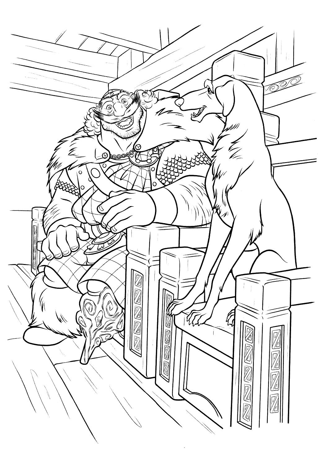 раскраска пони pdf