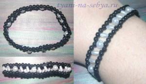 Красивые и простые браслеты из бисера своими руками