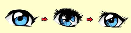 Урок рисования мультяшных глаз