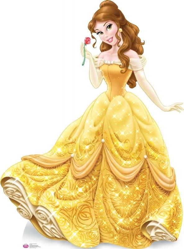 Принцесса дисней в желтом платье