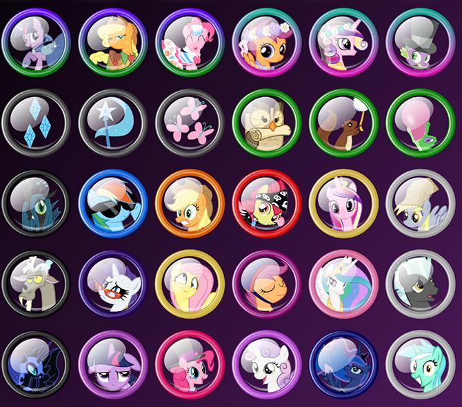 игры для девочек бродилки пони на двоих